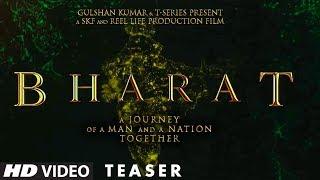 Bharat Teaser  Salman Khan  Eid 2019  Ali Abbas Zafar  Tseries