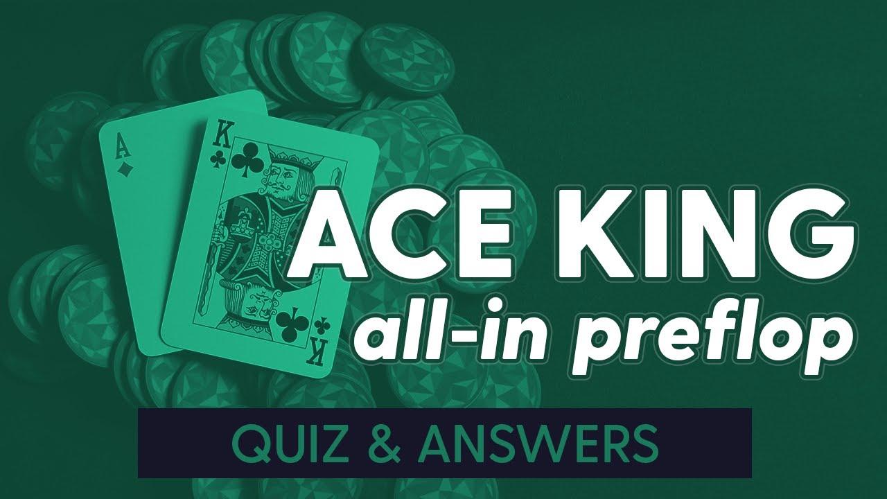 Ace King All-In Preflop Quiz + Answers | SplitSuit Poker