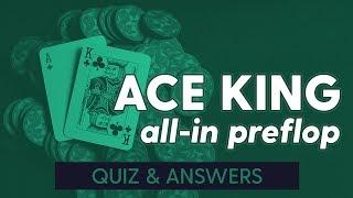 وتدافع AK Preflop (مسابقة+أجوبة) | SplitSuit