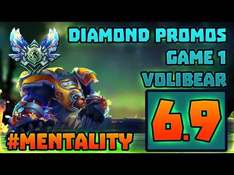 Diamond Promos Game 1 Volibear My Way #Mentality