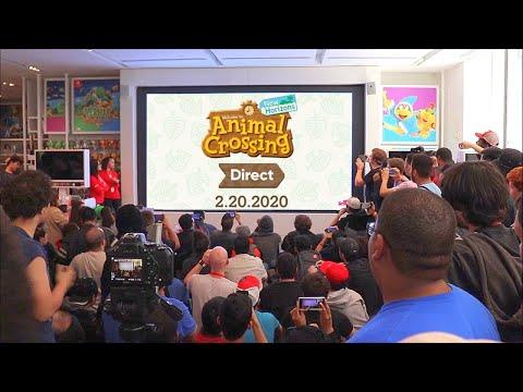Animal Crossing: New Horizons Direct 2.20.2020 REACTIONS At Nintendo NY