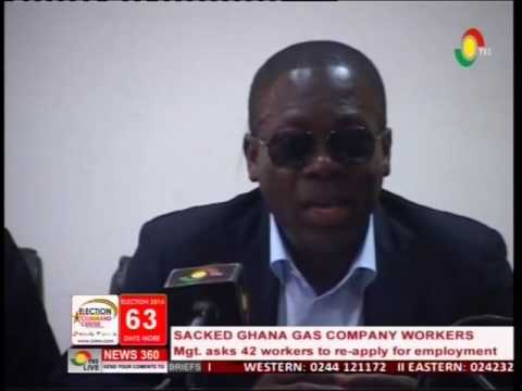 42 Ghana gas workers asked to re-apply for employment -4/10/2016
