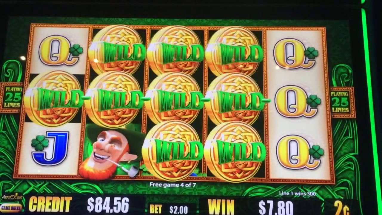 Wild LepreCoins Slot Machine - Play for Free or Real Money