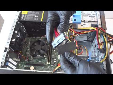 Dell Optiplex 3020 Upgrade SSD Drive Video Card Gaming