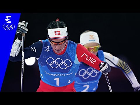 Cross Country Skiing | Ladies' 4 x 5km Relay Highlights | Pyeongchang 2018 | Eurosport