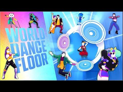 Just Dance 2018 World Dance Floor Gameplay (Nintendo Switch)