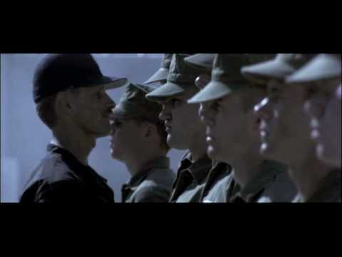 Kevin Gage in G I Jane: move your asses!