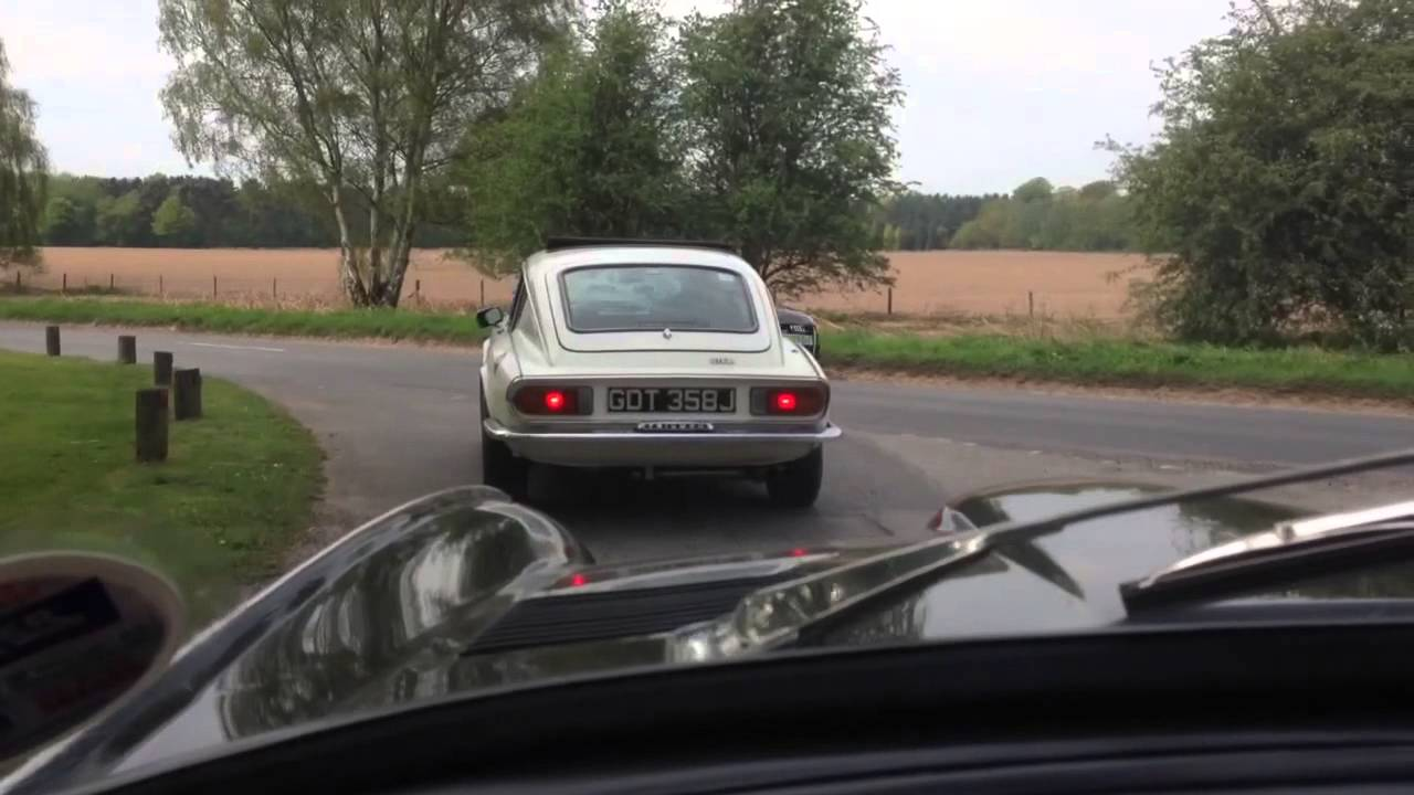 Triumph Gt6 Mk2 Mk3 Father And Sons Road Trip Video Youtube