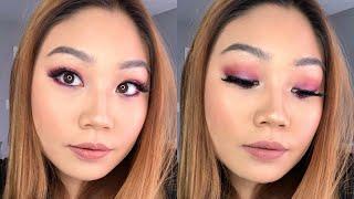 Purple Smokey Eye Makeup Tutorial | Ashley Wong