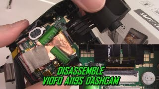How to Disassemble VIOFO A119/Pro/S Dash Cam