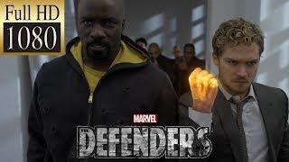 Первая встреча Защитников | We're all Defenders here (Защитники|The Defenders) HD 1080