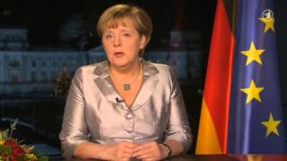 Angela Merkel — 2013 New Year