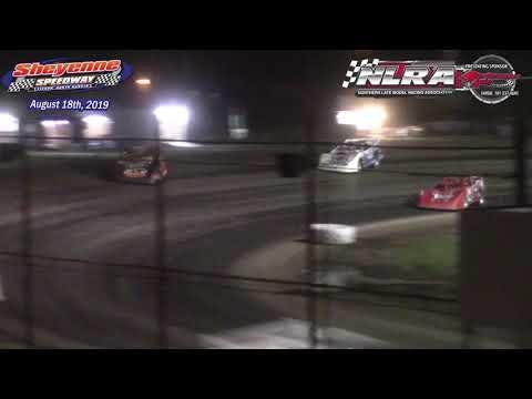 Sheyenne Speedway NLRA Late Model A-Main (8/18/19)