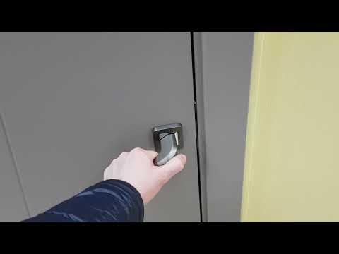 """Серые межкомнатные двери лофт в салоне дверей """"Двернов"""""""
