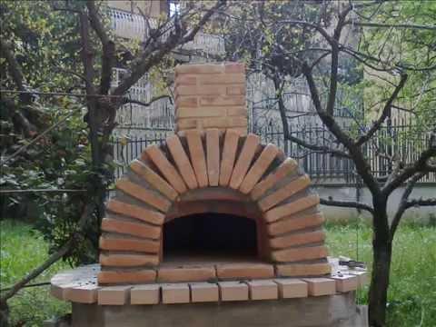 Costruzione del mio forno a legna youtube for Sportello per forno a legna