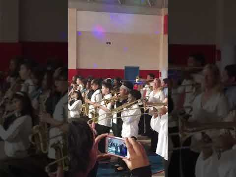 West Hoke Middle School Marching Band