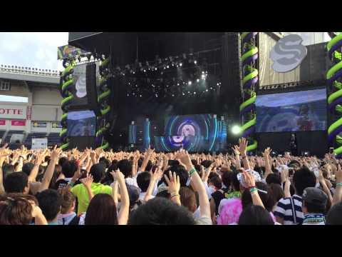Zedd and Nasri (from Magic!) - Rude - Summer Sonic Tokyo 2015