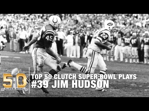 #39: Jim Hudson Picks Off Earl Morral Super Bowl III   Top 50 Clutch Super Bowl Plays