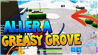 ALLER A GREASY GROVE EN SAISON 9 SUR FORTNITE BATTLE ROYALE ! - GLITCH 9.00