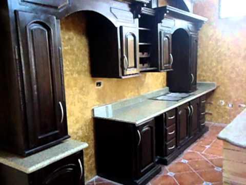 Cocina de marmol o granito youtube for Cocinas de granito