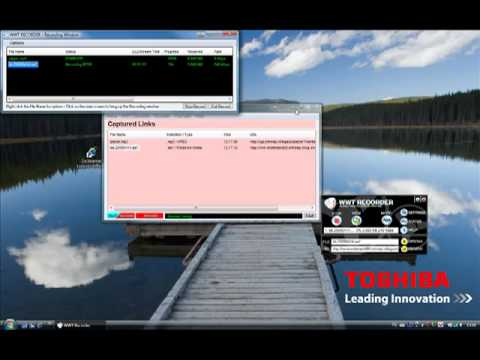 WWT Recorder part 1 how to record - World web television