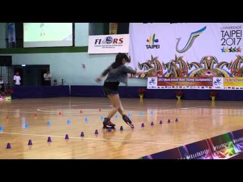 2013 WFSC Taipei Classic Slalom Senior Woman Lin Jian Yu