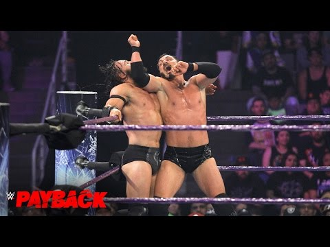 Neville vs. Austin Aries  WWE Cruiserweight Title Match: WWE Payback 2017 WWE Network Exclusive