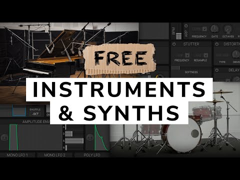 Free Instruments And Synth Plugins - My 2020 Favourites