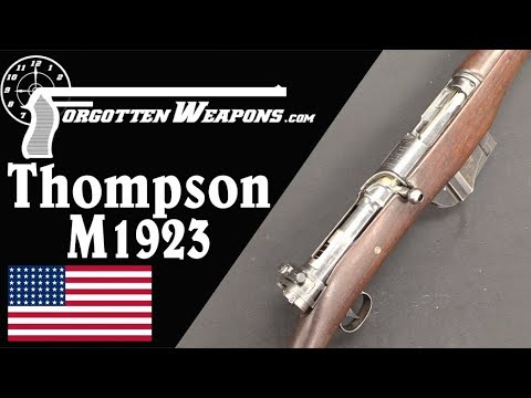 Thompson's .30-06 1923 Autorifle: Blish Strikes Again