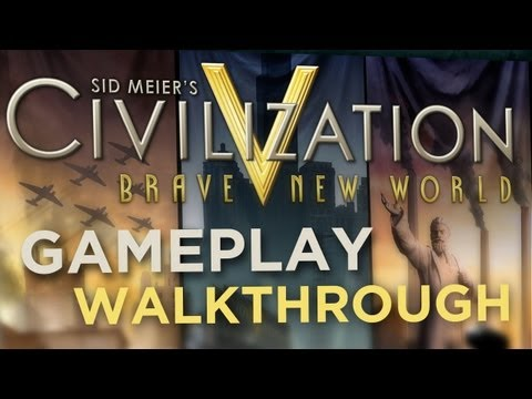 Civilization 5: Brave New World Gameplay Walkthrough! Portugal, Culture, World Congress, and more!