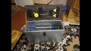 ящик для зимней рыбалки своими руками за 150 грн. box for ice fishing with their hands for 150 UAH.