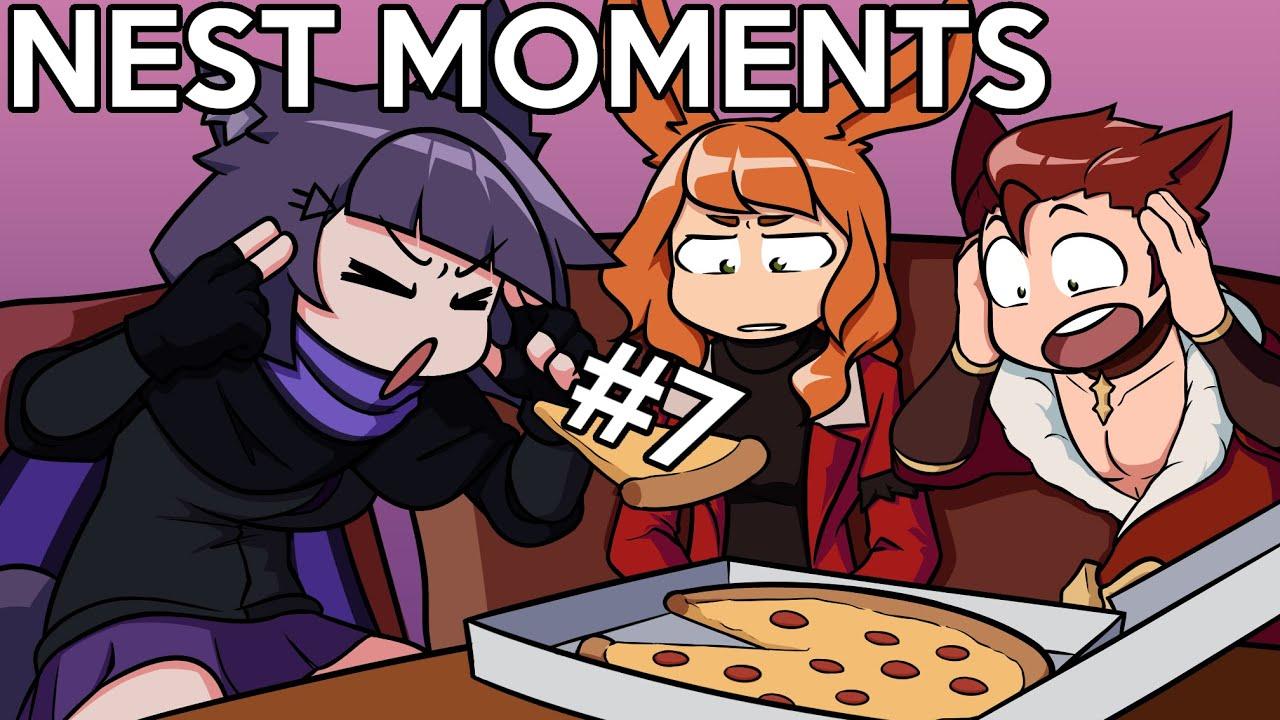 NEST vs Food! (again) - NEST Moments #7