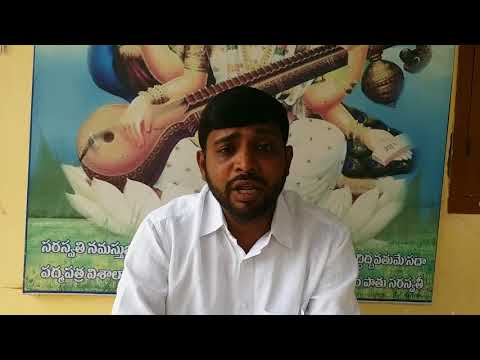 """TPTF state president Sheik Shabbir Ali Appealing Private School Managements to declare """"Dussehra Vac"""