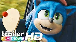 SONIC THE HEDGEHOG 🦔 (2020) Meet the Redesigned Sonic in all NEW Trailer