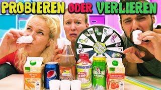 KAROTTEN COLA! EKLIGE DRINKS MIXEN +TRINKEN Probieren oder Verlieren Challenge KAAN VS KATHI VS NINA