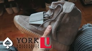 wearing fake yeezys at school   yeezy social experiment