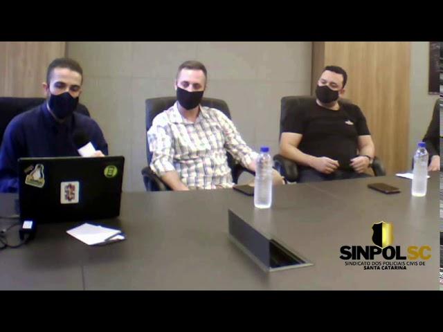 COBRAPOL visita a sede SINPOL-SC e esclarece dúvidas ref. a Lei Orgânica Nacional das Polícias Civis