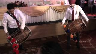 Wedding Reception Entrance - Dhol performance & Tinie Tempah instrumental
