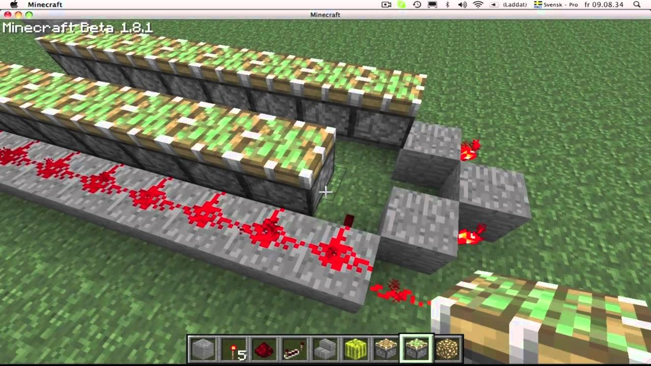 how to make auto melon farm minecraft