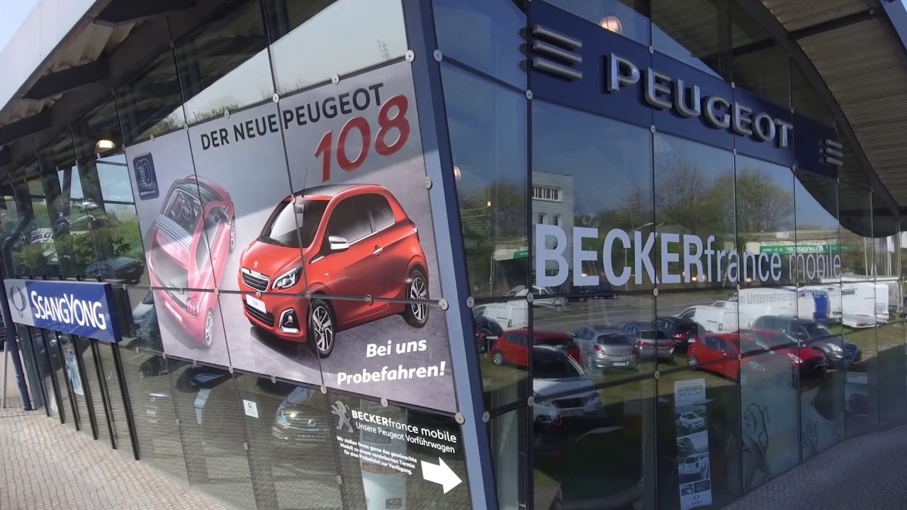 Autohaus Beckerfrance Mobile In Oberhausen Youtube