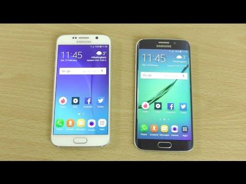 Samsung Galaxy S6 Android 6.0 Marshmallow VS S6 Edge 5.1.1 lollipop - Speed Comparison!