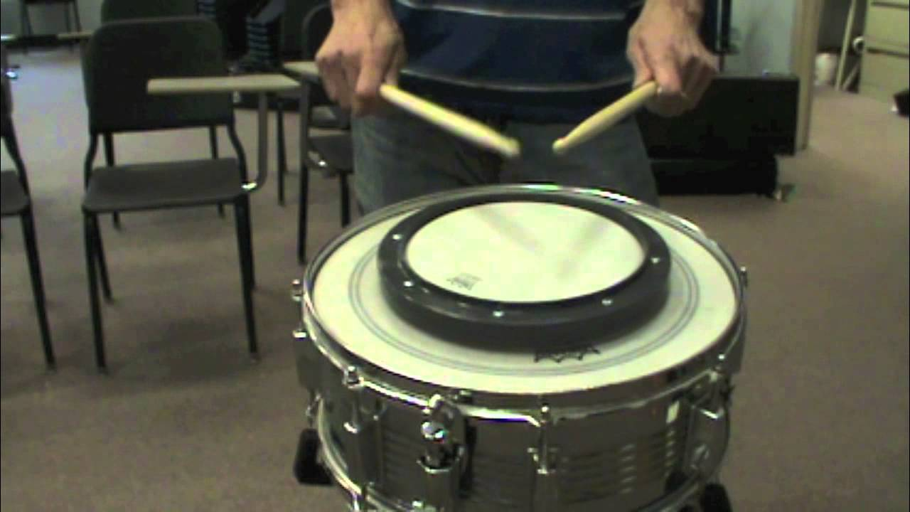 sis band tutorial snare drum 10 9 8 drill