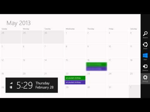 How To Remove Facebook Friends Birthdays From Windows 8 Calendar