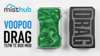 VooPoo DRAG 157W Gene Chip TC Box Mod Video