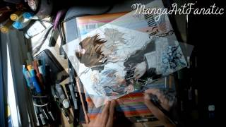 Speed Drawing Kaname and Zero from Vampire knight