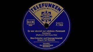 """""""Es war einmal zur schönen Maienzeit!"""" (Niel) Carl Woitschach 1933"""