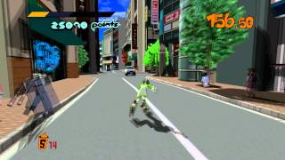 Jet Set Radio HD [PC] Gameplay