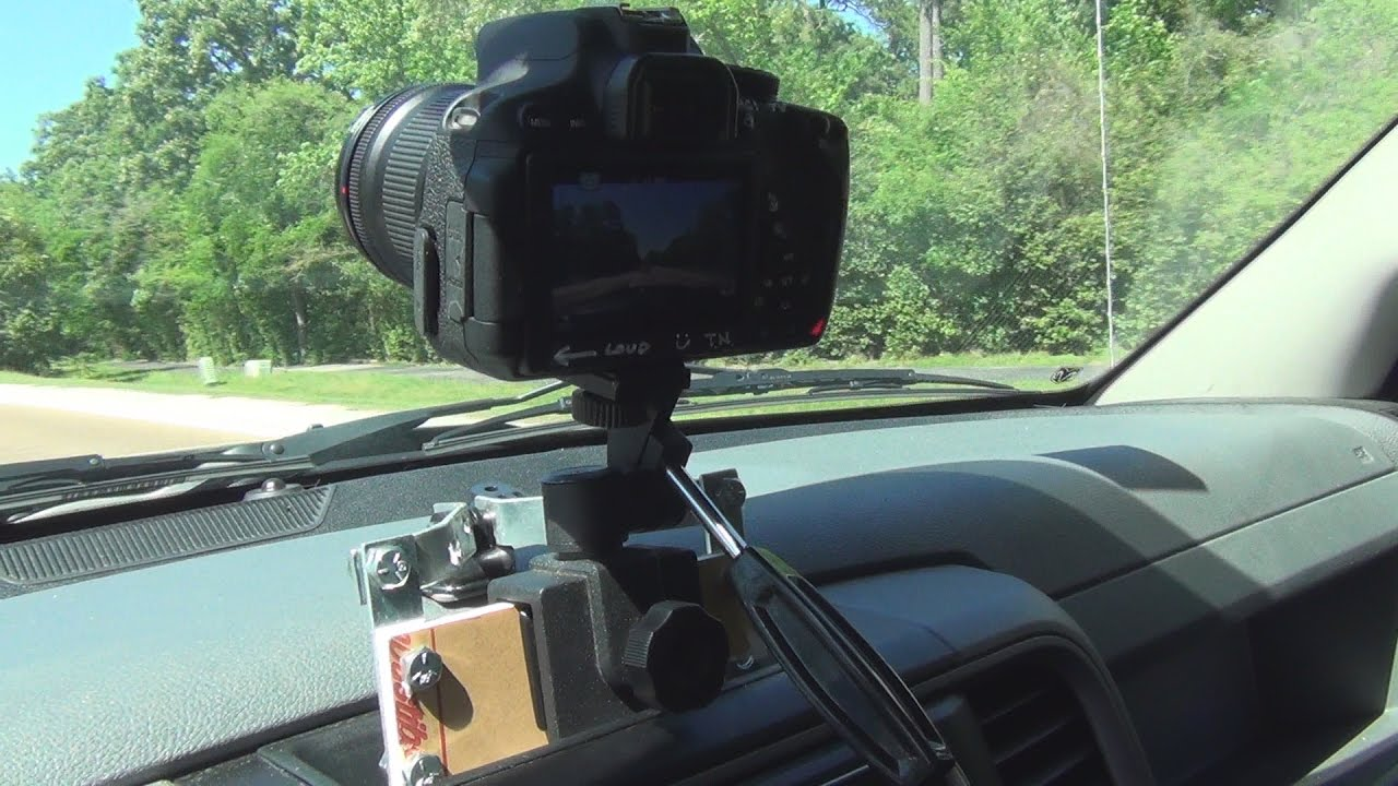 how to make a camera car