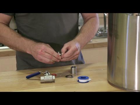 Ball Valve Bulkhead for Brew Kettles - Installing instructions