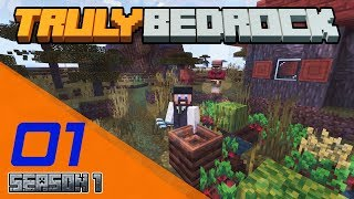 Truly Bedrock [S1 EP001] | How Does This Work? | Minecraft Bedrock Edition